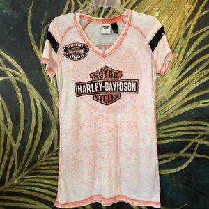 Harley Davidson Burnout T-Shirt